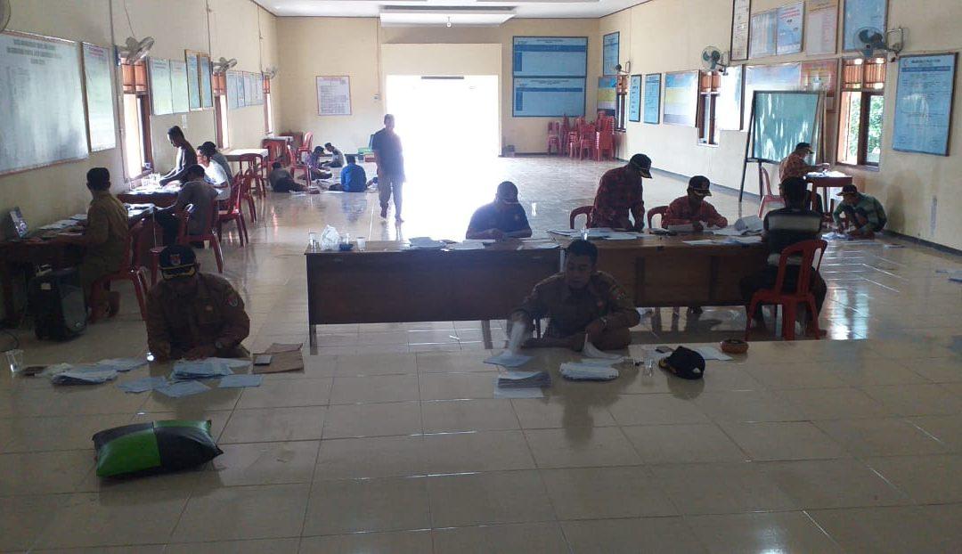 Desa Adi Luhur Melakukan Verifikasi Dan Pemilihan Surat Pemberitahuan Pajak Terhutang (SPPT) Tahun 2020