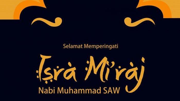 Selamat memperingati Isra Miraj 1441 H