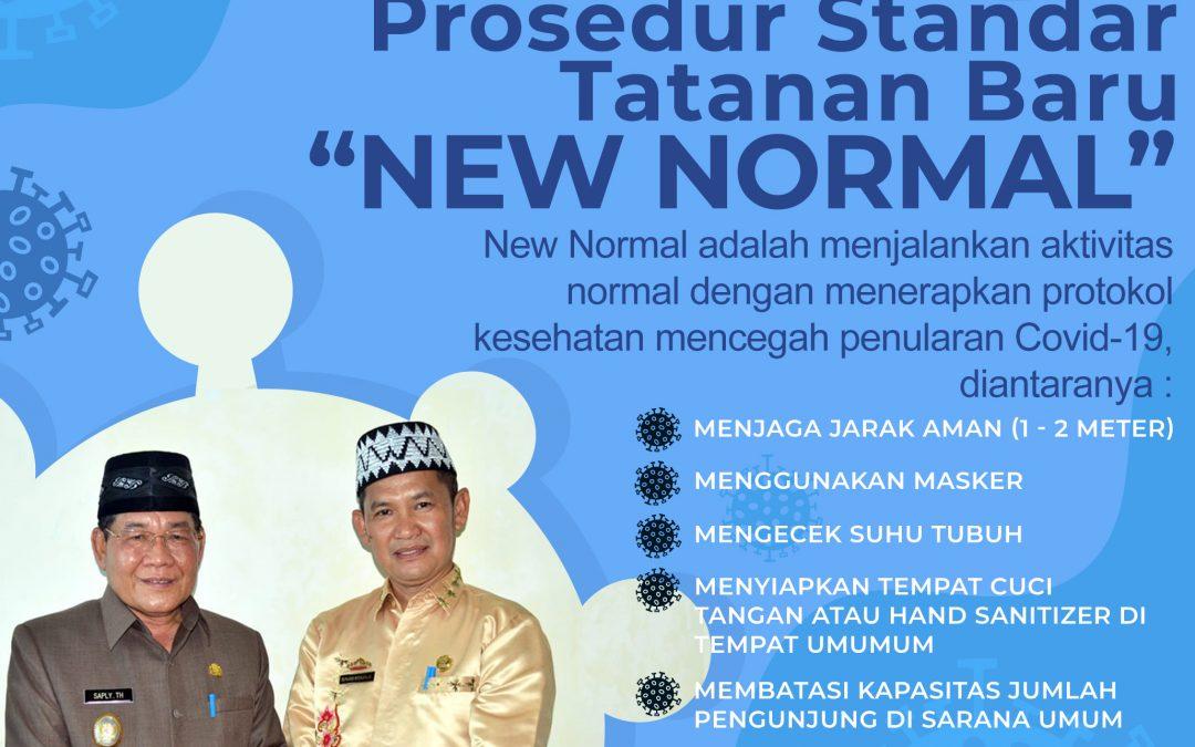 Prosedur Standar Tatanan Baru (New Normal)